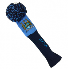 Official Manchester City FC Pompom Driver Headcover